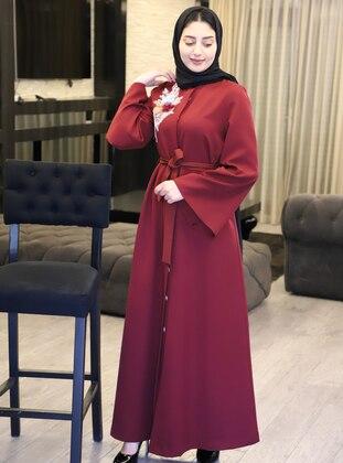 Maroon - Evening Abaya
