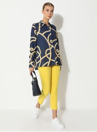 Yellow - Multi - Pants