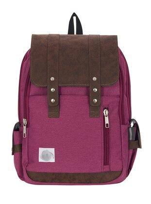 Multi - Purple - Backpack - School Bags - GNC DESIGN
