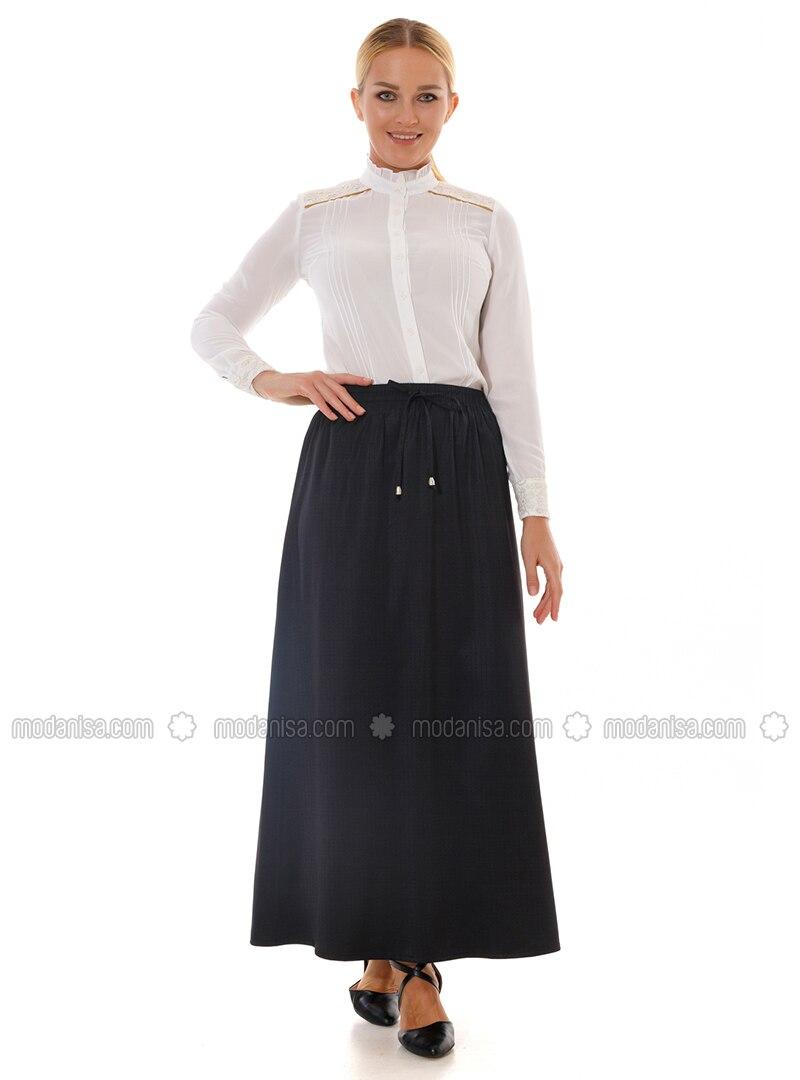 Black -  - Skirt