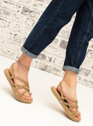 Gold - Sandal - Heels - Snox
