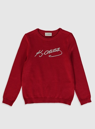 Red - Girls` Pullovers - LC WAIKIKI