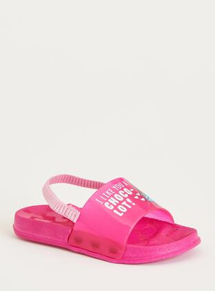 Pink - Girls` Slippers - DeFacto