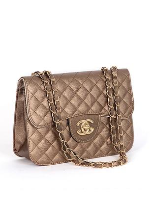 Bronze - Satchel - Shoulder Bags