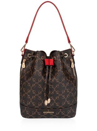 Brown - Red - Satchel - Shoulder Bags