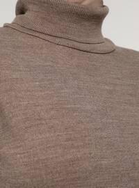 Mink - Polo neck - Unlined - Knit Tunics