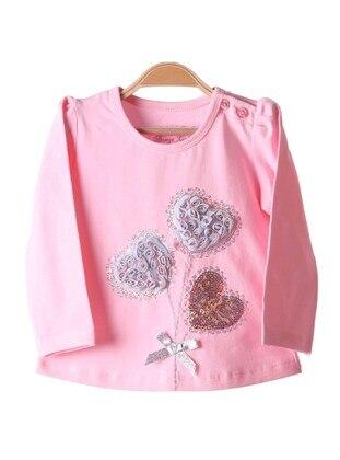 Pink - Girls` T-Shirt - Breeze Girls&Boys