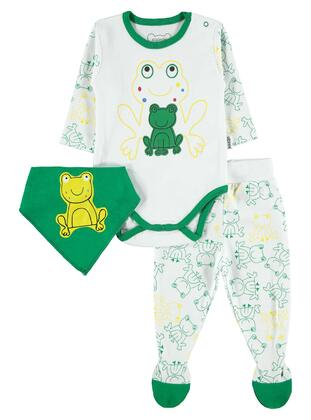 Green - Baby Suit