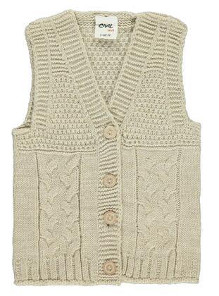 Brown - Baby Vest