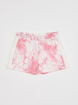 Pink - Girls` Shorts - DeFacto