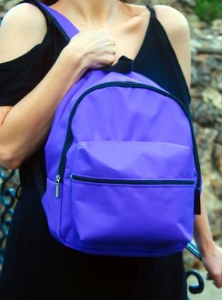 Purple - Backpack - Backpacks