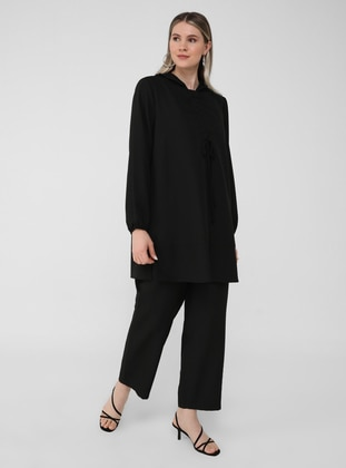 Tunic&Trousers Set - Black
