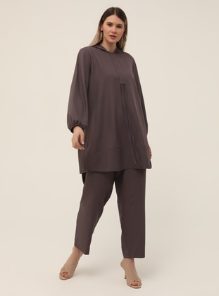 Tunic&Trousers Set - Cold Purple