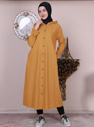 Mustard - Unlined -  - Abaya