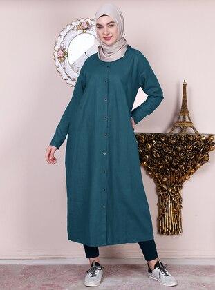 Indigo - Unlined -  - Abaya