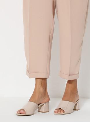 Nude - High Heel - Sandal
