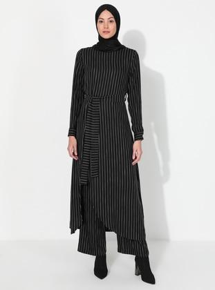 Stripe - Unlined -  - Suit