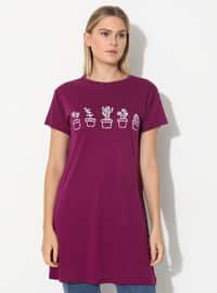 Plum - T-Shirt