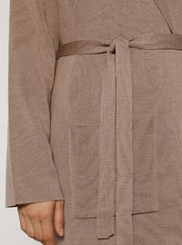 Mink - Shawl Collar - Acrylic -  - Cardigan