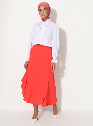 Coral - Unlined -  - Skirt