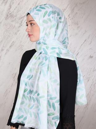 Green Almond - Printed - Viscose - Shawl