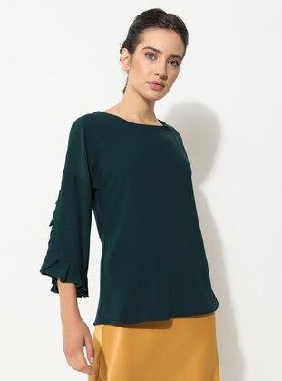 Emerald - Crew neck - Blouses