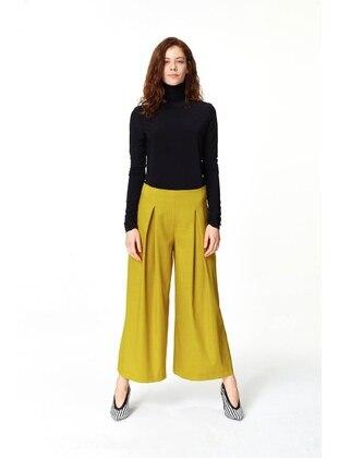 Green - Olive Green - Pants