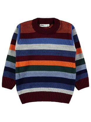 Maroon - Boys` Pullover - Civil