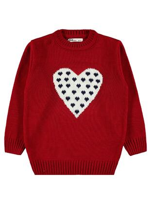 Red - Girls` Pullovers - Civil
