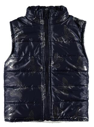 Navy Blue - Girls` Vest - Civil