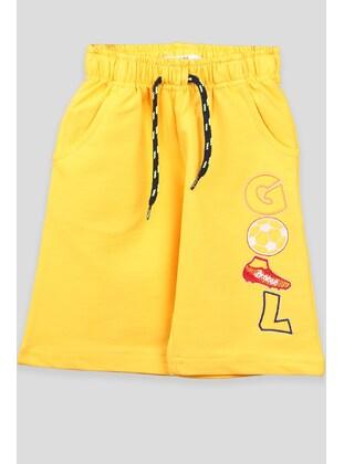 Yellow - Boys` Shorts