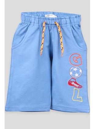 Blue - Boys` Shorts