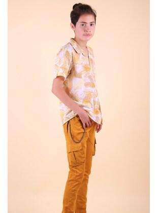 Yellow - Boys` Pants