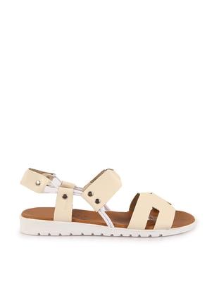 Cream - Sandal - Sandal