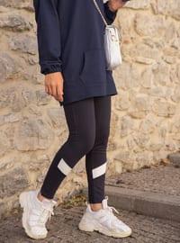 Navy Blue -  - Gym Leggings
