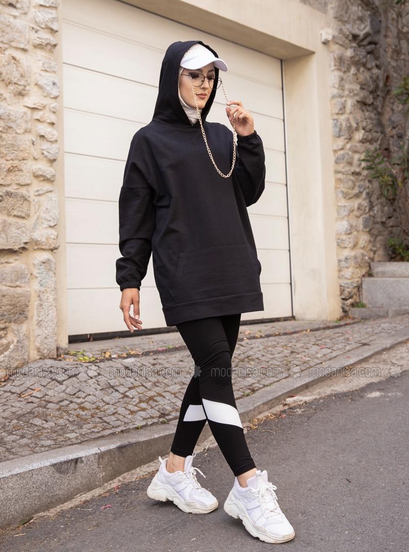 Black -  - Gym Leggings