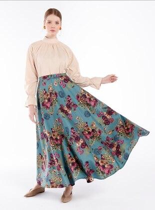Plum - Plum - Floral - Unlined - Cotton - Plum - Floral - Unlined - Cotton - Plum - Floral - Unlined - Cotton - Plum - Floral - Unlined - Cotton - Skirt