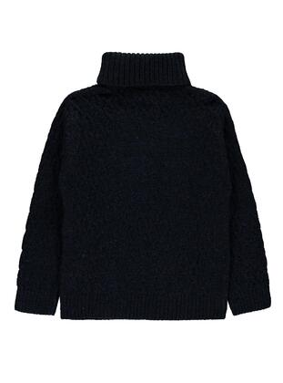 Navy Blue - Boys` Pullover