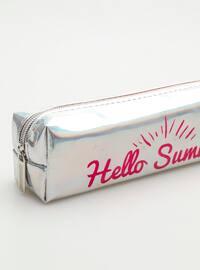Silver tone - Pencil Cases
