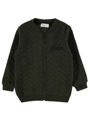 Khaki - Boys` Cardigan - Civil