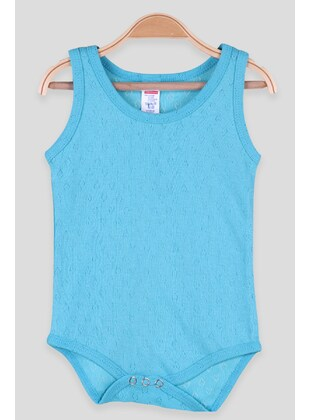 Turquoise - baby bodysuits - Breeze Girls&Boys
