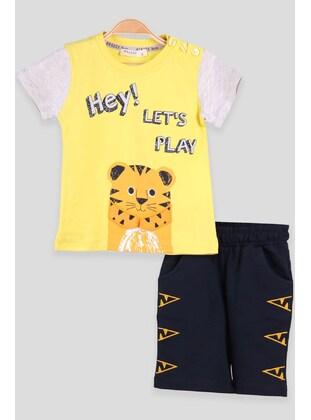 Yellow - Boys` Suit - Breeze Girls&Boys