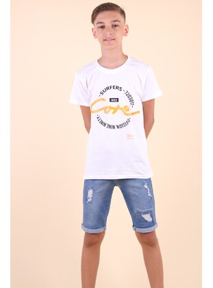 Blue - Boys` Shorts - Breeze Girls&Boys