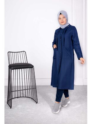 Indigo - Plus Size Coat