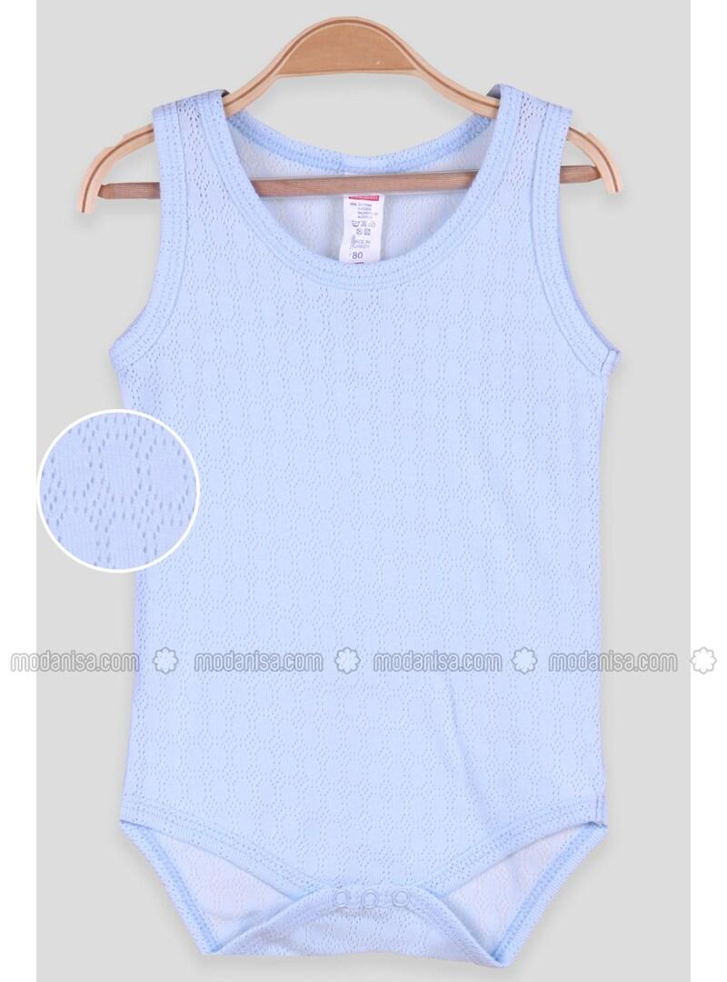 Blue - baby bodysuits
