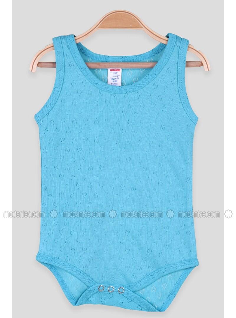Turquoise - baby bodysuits