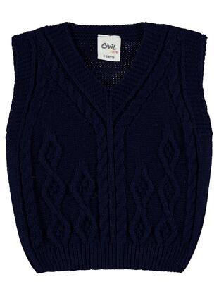 Navy Blue - Baby Sweaters