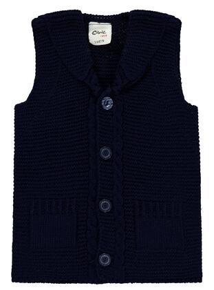 Navy Blue - Baby Vest - Civil