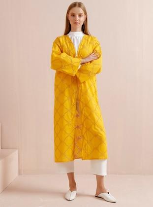 Mustard - Mustard - Multi - Unlined - Cotton - Mustard - Multi - Unlined - Cotton - Topcoat