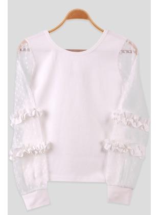 Ecru - Girls` T-Shirt - Breeze Girls&Boys